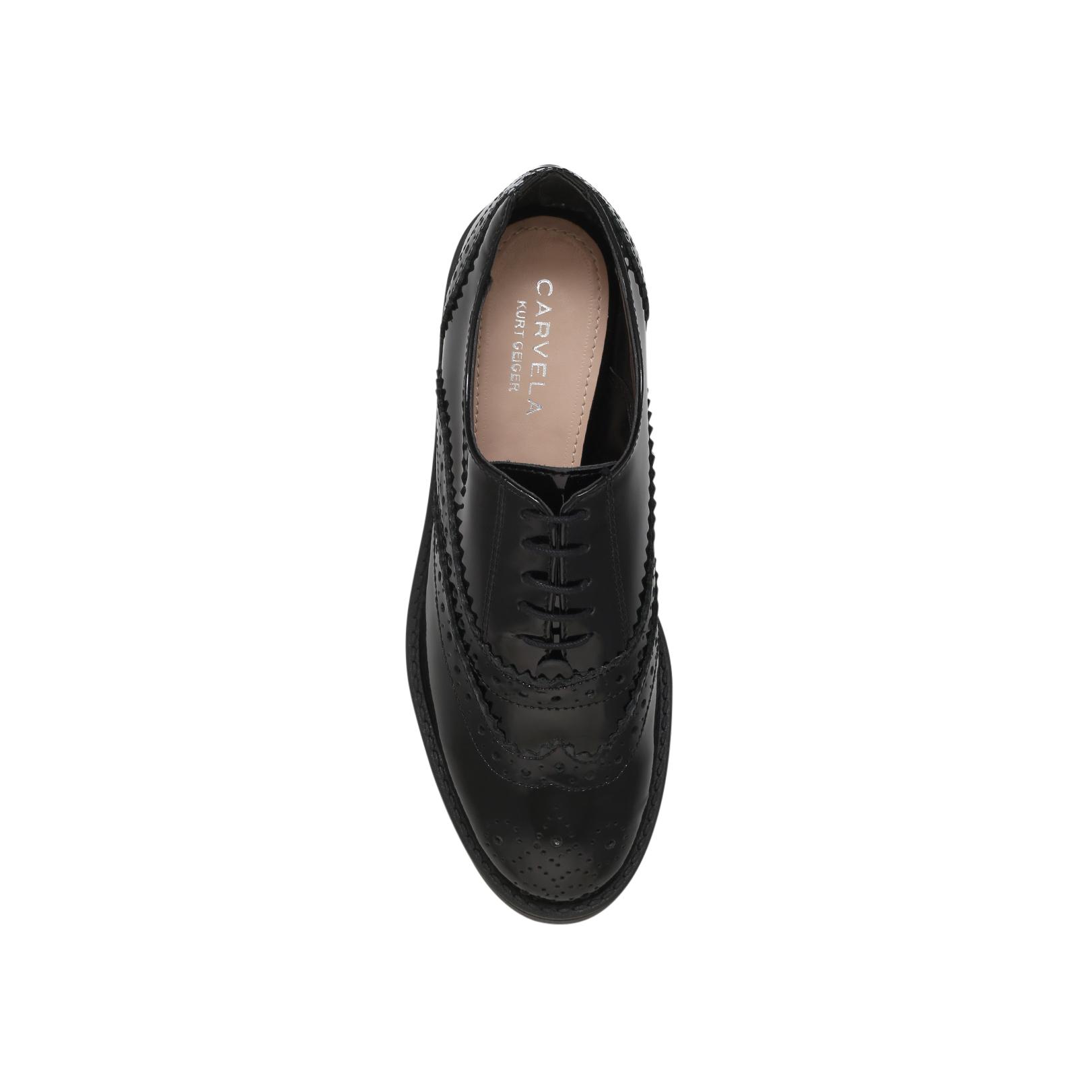 lincoln carvela kurt geiger lincoln black flat formal