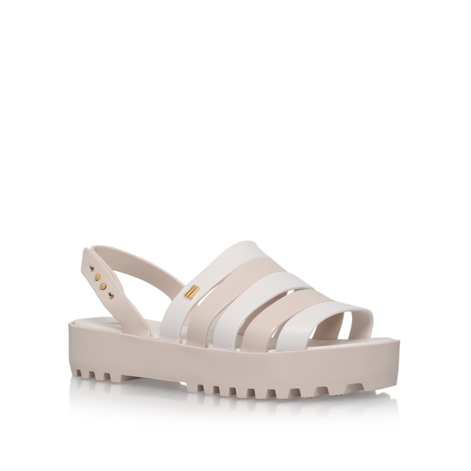 STRAPPY FLATBED SANDAL