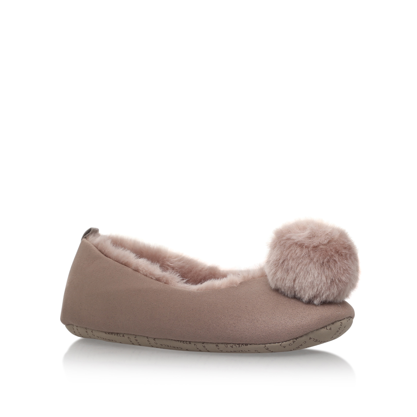 OLIVIA POMPOM BOX SLIPPER