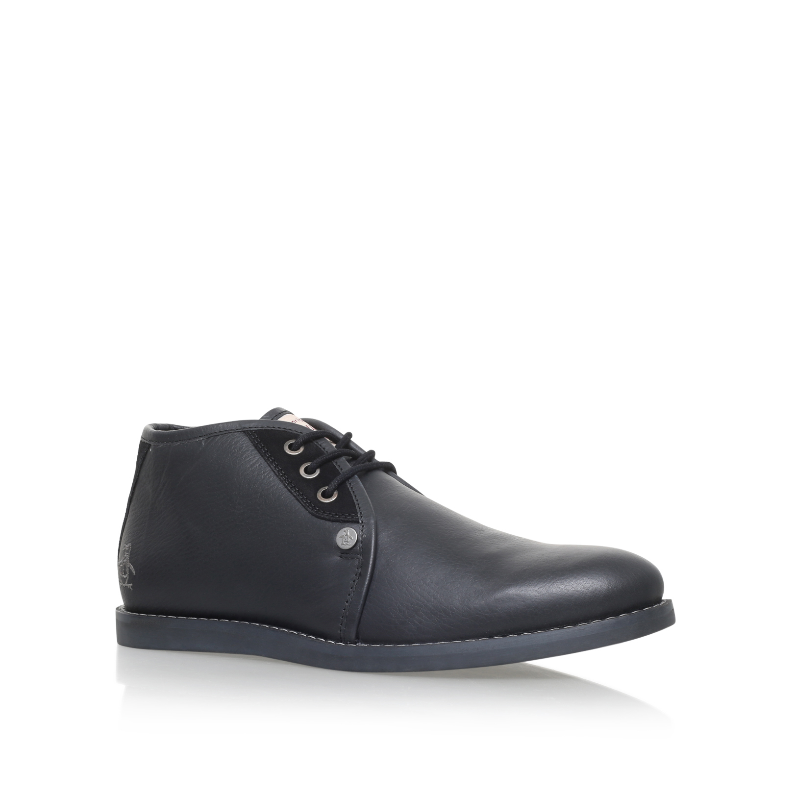 LEATHER LOW ANKLE BOOT
