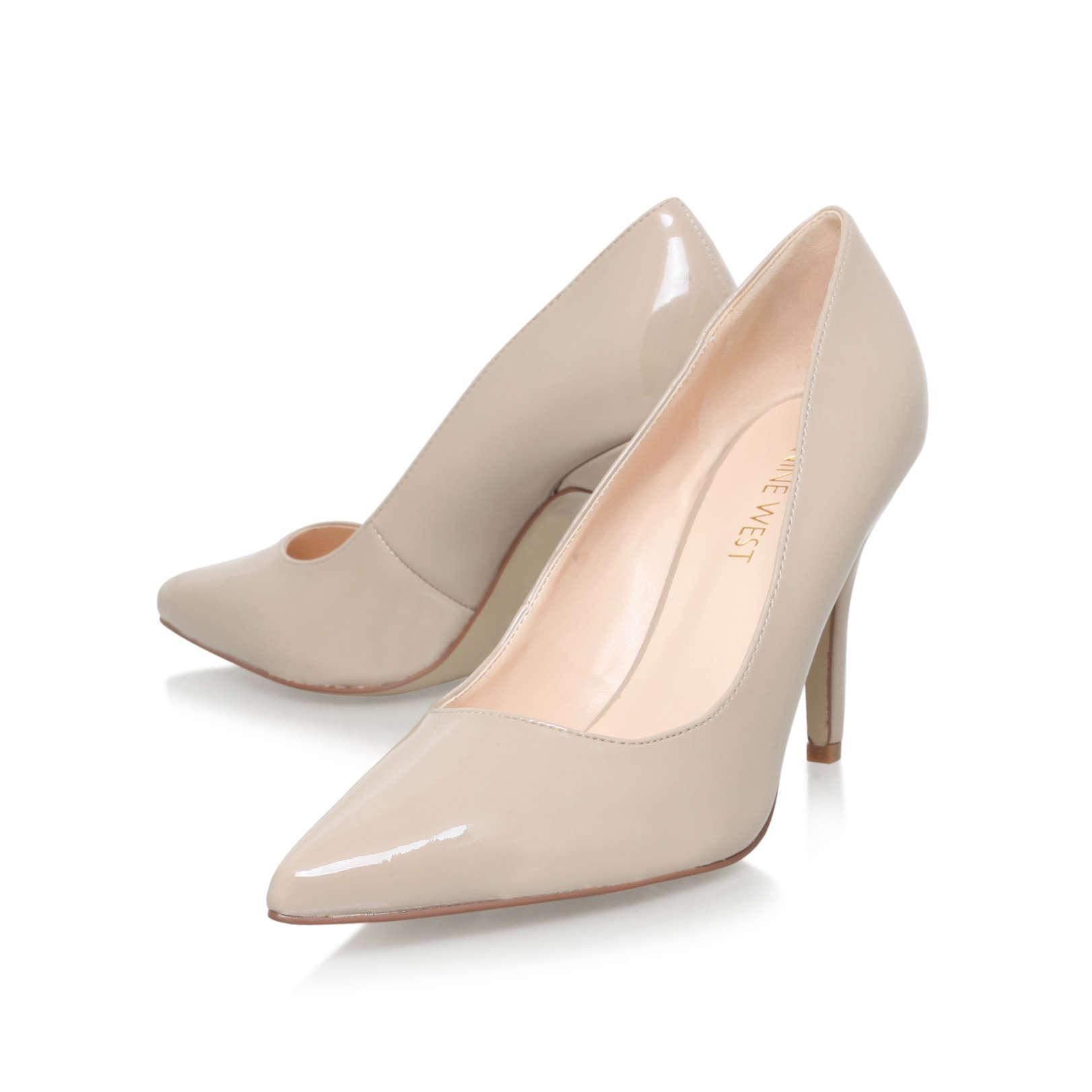 4ada0e645de FLAGSHIP Nine West Flagship Nude Patent High Heel Court Shoes by ...