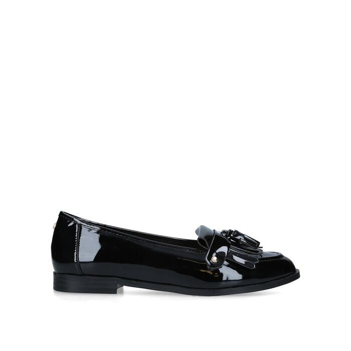 top brands good quality exceptional range of colors MAGPIE Black Flat Loafers by CARVELA | Kurt Geiger