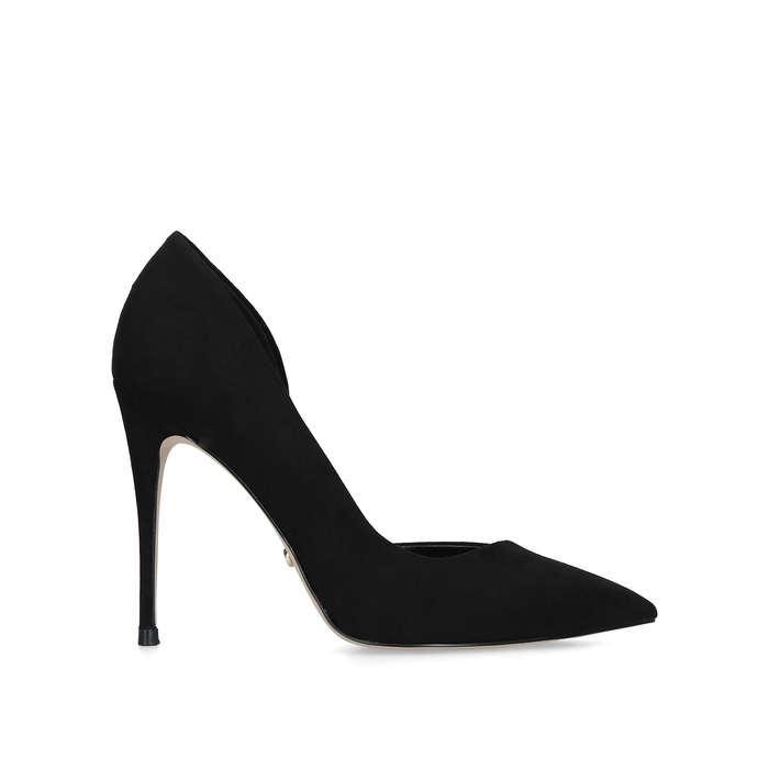 black court shoes size 2