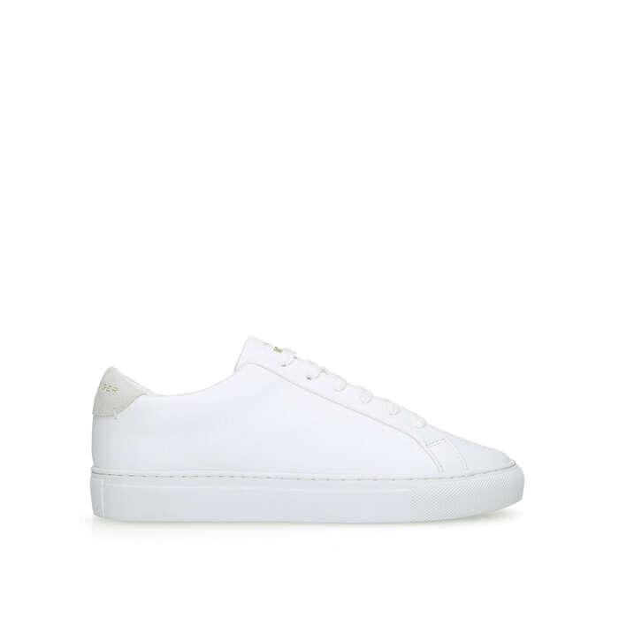 LANE KGL White Low Top Sneakers by KURT