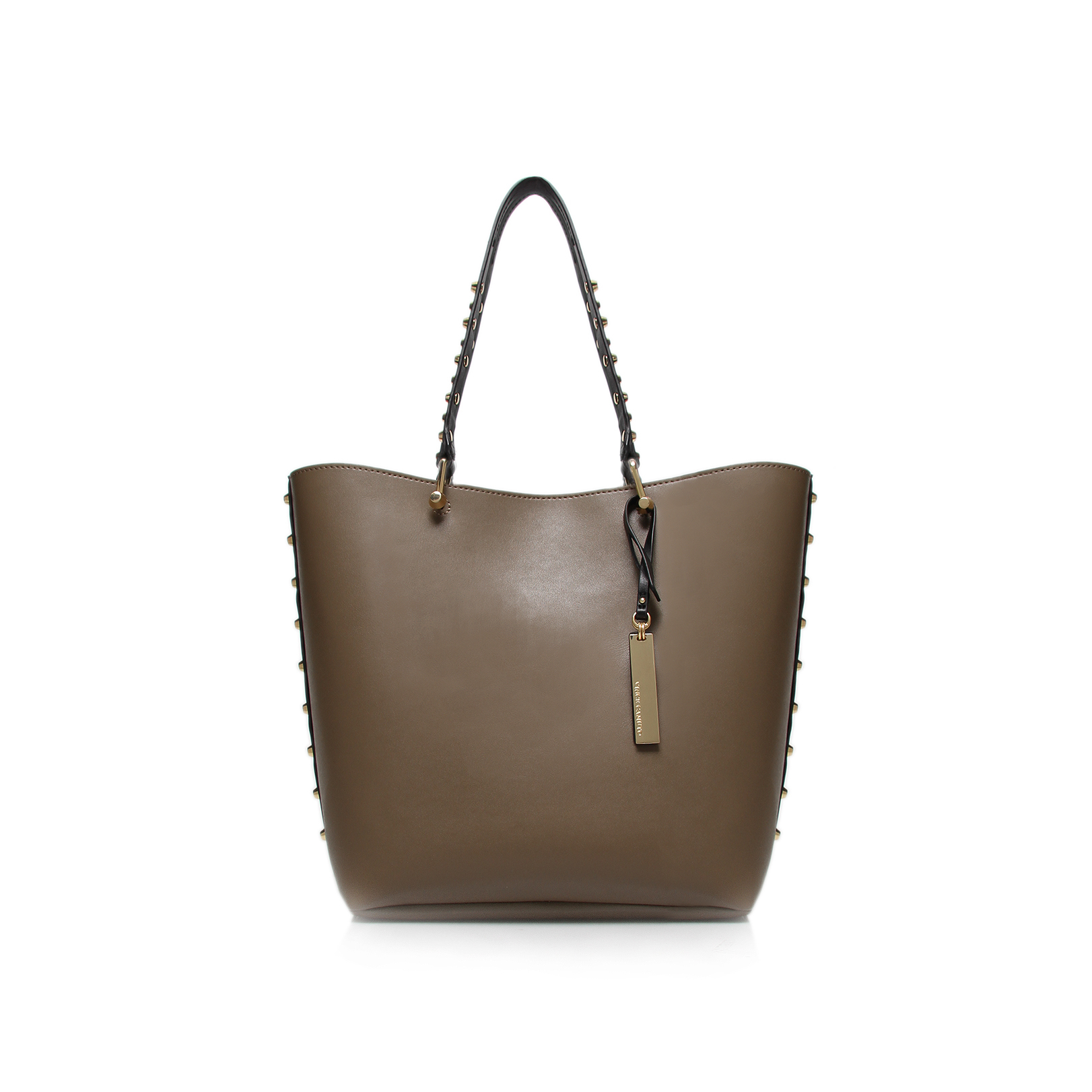 Vince Camuto Evie Small Tote Taupe Tote Bag By Vince Camuto
