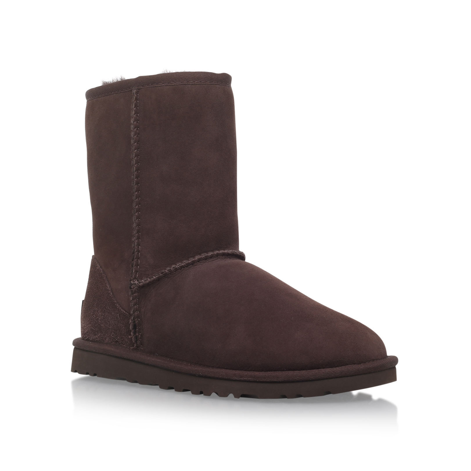 d23523833f2 Womens Ugg Australia Chocolate Brown Classic Short Boots - cheap ...