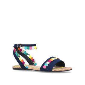 9cb0593775d2 Mini Raphy Girls Multicoloured Flat Sandals from Mini Miss KG