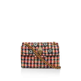 d07a09315157 Fabric Mini Kensington X Red Embellished Mini Shoulder Bag from Kurt Geiger  London