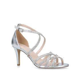 dd94491fae4 Diva Metallic High Heel Strappy Sandals from Nine West