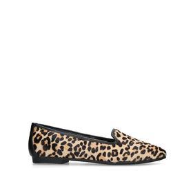 7466ee806d9f Mercy. Leopard Print Flat Ballerina Shoes