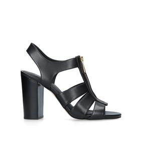 855b765d5bd Damita Sandal Black Mid Heel Sandals from Michael Michael Kors. Sale