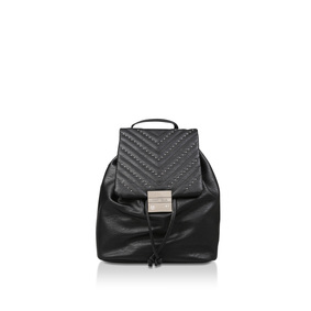 Berty Pin Stud Backpack Black Studded Backpack from Carvela 51f240d191