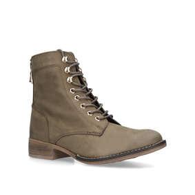 c533db7a4b6c Felalia Grey Lace Up Boots from Aldo