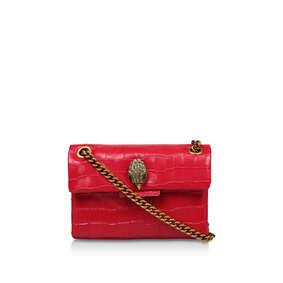 345449778d4 Croc Mini Kensington Bag. Red Leather Mini Shoulder Bag