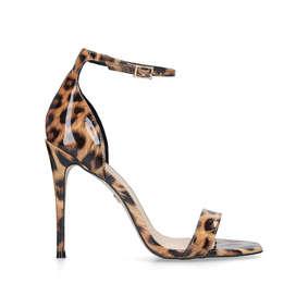 a551e87c1c5 Ali. Leopard Print Stiletto Heel Sandals