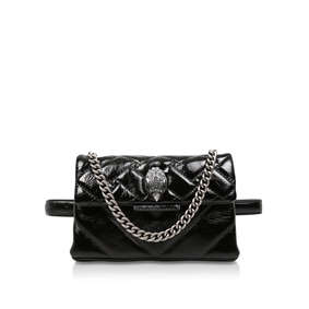 Patent Kensington Belt Bg. Black Patent Belt Bag 6cbf315f390a6