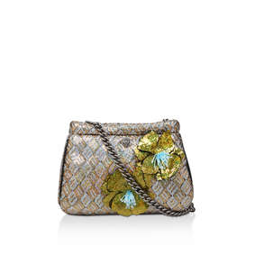 S Kensington Sm Clutch. Metallic Embellished Clutch Bag 76472d32791af