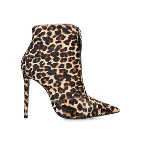 9b44088a4c7c59 Specious. Leopard Print Ankle Boots
