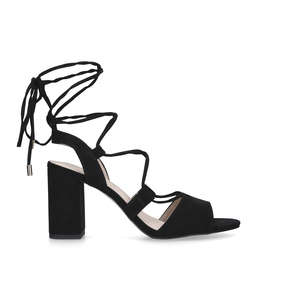 9dd2bce6fe49 Petra. Black Strappy Sandals