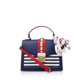 Glendaa Blue And White Striped Handbag from Aldo ce2ef4097889e