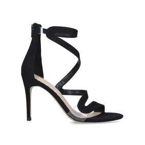 6c900fc7f29a Galeviel Black Stiletto Heel Sandals from Aldo