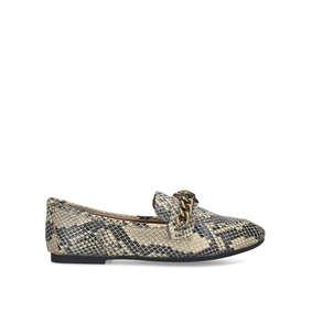 01719f332a Chelsea Loafer Snake Print Eagle Embellished Loafers from Kurt Geiger London