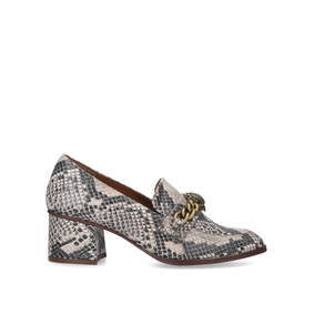 2fb29c1402 Chelsea Block Snake Print Block Heel Court Shoes from Kurt Geiger London
