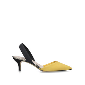1ecb4402449f Lovorelle Yellow Slingback Court Shoes from Aldo. New In