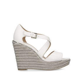 96c31a499fe3 Abbott Wedge. Cream Espadrille Wedge Sandals