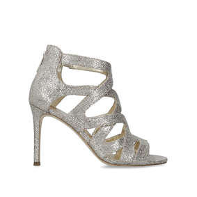 ae26effa014 Annalee Sandal Metallic Embellished Heeled Sandals from Michael Michael Kors