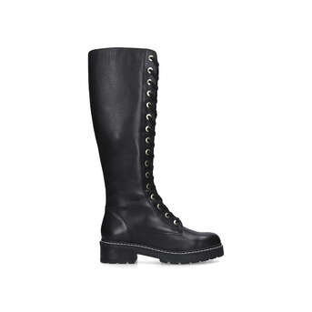 Flat Boots   Women's Leather \u0026 Suede