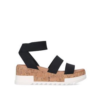 towie black flatform sandals