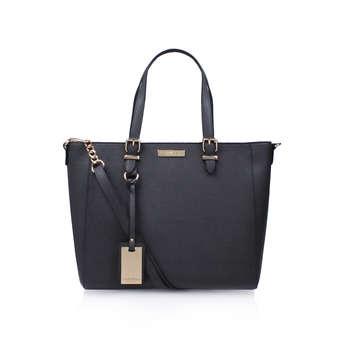 82073a060c Dina Winged Tote. Grey Tote Bag