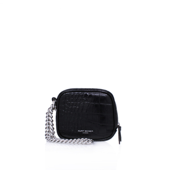 Croc Square Purse W Chain from Kurt Geiger London