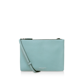 New Saffiano Pisces Pouch from Kurt Geiger London