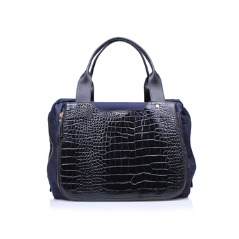Nylon   Croc Gym Bag from Kurt Geiger London