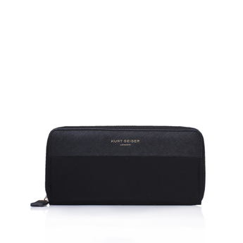 Nylon   Saff Zip Wallet from Kurt Geiger London