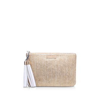 Poppy Raffia Pouch from Carvela Kurt Geiger