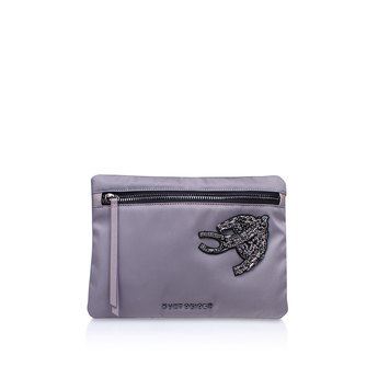 Nylon   Saff Pouch from Kurt Geiger London
