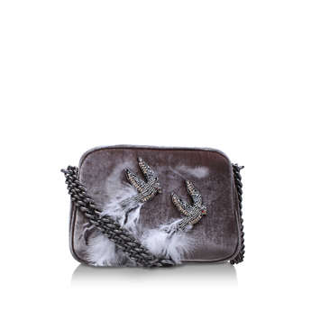 Velvet Plum Cross Body from Kurt Geiger London