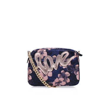 Fabric Plum Cross Body from Kurt Geiger London