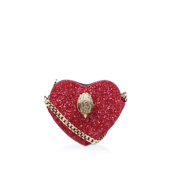 Glitter Heart Cross Body from Kurt Geiger London