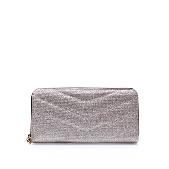 Lurex Zip Around Wallet from Kurt Geiger London