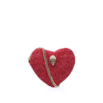 Glitter Heart Crossbody from Kurt Geiger London