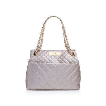 Lurex Kensington Tote from Kurt Geiger London