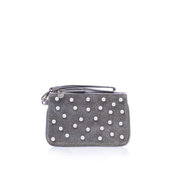 Top Zip Wristlet Pouch from Nine West