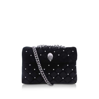 Velvet Kensington Bag from Kurt Geiger London