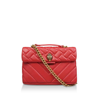 Leather Kensington X Bag from Kurt Geiger London