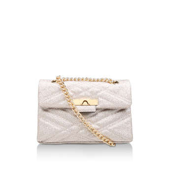 Lurex Mayfair X Bag from Kurt Geiger London