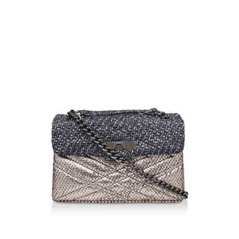 Tweed Mayfair X Bag from Kurt Geiger London